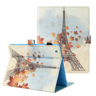 Book-Style Smart Leather Folio Case with Auto Sleep/Wake for iPad iPad 2, iPad 3 and iPad 4th Generation - Eiffel Tower