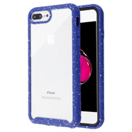 Tough Fusion-X 2-Piece Hybrid Armor Case for iPhone 8 Plus / 7 Plus - Splash Blue
