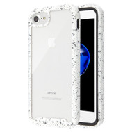 Tough Fusion-X 2-Piece Hybrid Armor Case for iPhone 8 / 7 - Splash White