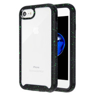 Tough Fusion-X 2-Piece Hybrid Armor Case for iPhone 8 / 7 - Splash Black