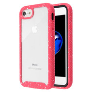 Tough Fusion-X 2-Piece Hybrid Armor Case for iPhone 8 / 7 - Splash Red