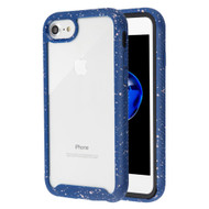 Tough Fusion-X 2-Piece Hybrid Armor Case for iPhone 8 / 7 - Splash Blue