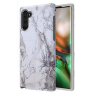 Fuse Slim Armor Hybrid Case for Samsung Galaxy Note 10 - Marble White
