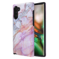 Fuse Slim Armor Hybrid Case for Samsung Galaxy Note 10 - Marble Purple
