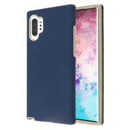Fuse Slim Armor Hybrid Case for Samsung Galaxy Note 10 Plus - Navy Blue Gold