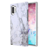 Fuse Slim Armor Hybrid Case for Samsung Galaxy Note 10 Plus - Marble White