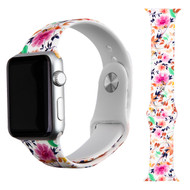 High Fashion Sport Silicone Watch Band for Apple Watch 44mm / 42mm - Sweet Daisy