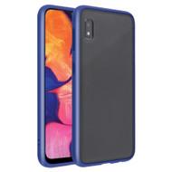 Frost Semi Transparent Hybrid Case for Samsung Galaxy A10e - Blue