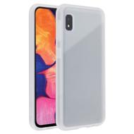 Frost Semi Transparent Hybrid Case for Samsung Galaxy A10e - White