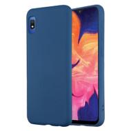 Liquid Silicone Protective Case for Samsung Galaxy A10e - Navy Blue