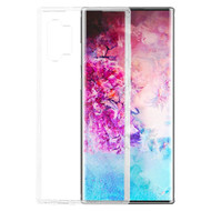 Polymer Transparent Hybrid Case for Samsung Galaxy Note 10 Plus - Clear 141