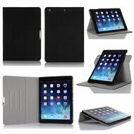 Book-Style 360 Degree Smart Rotating Case for iPad (2018/2017) / iPad Air - Black