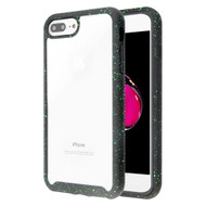 Tough Fusion-X 2-Piece Hybrid Armor Case for iPhone 8 Plus / 7 Plus - Splash Black