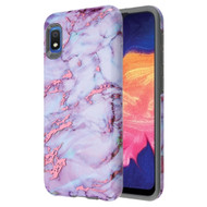 Fuse Slim Armor Hybrid Case for Samsung Galaxy A10e - Marble Wine