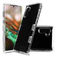 Military Grade Certified TUFF Lucid Transparent Hybrid Armor Case for Samsung Galaxy Note 10 - Clear