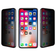 Full Coverage Privacy Tempered Glass Screen Protector for iPhone XS / X