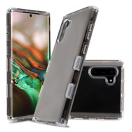 Military Grade Certified TUFF Lucid Transparent Hybrid Armor Case for Samsung Galaxy Note 10 - Smoke