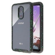 Tough Fusion-X 2-Piece Hybrid Armor Case for LG Stylo 5 - Splash Black