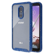 Tough Fusion-X 2-Piece Hybrid Armor Case for LG Stylo 5 - Splash Blue