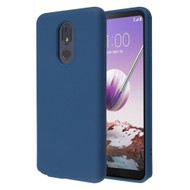 Liquid Silicone Protective Case for LG Stylo 5 - Navy Blue