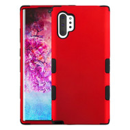 Military Grade Certified TUFF Hybrid Armor Case for Samsung Galaxy Note 10 Plus - Red 006
