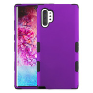 Military Grade Certified TUFF Hybrid Armor Case for Samsung Galaxy Note 10 Plus - Purple