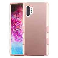 Military Grade Certified TUFF Hybrid Armor Case for Samsung Galaxy Note 10 Plus - Rose Gold