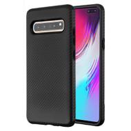 Carbon Fiber Hybrid Case for Samsung Galaxy S10 5G - Black