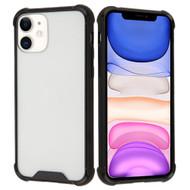 Polymer Transparent Hybrid Case for iPhone 11 - Black