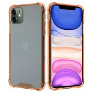 Polymer Transparent Hybrid Case for iPhone 11 - Rose Gold