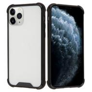 Polymer Transparent Hybrid Case for iPhone 11 Pro - Black