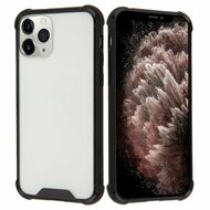 Polymer Transparent Hybrid Case for iPhone 11 Pro Max - Black