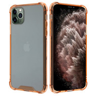 Polymer Transparent Hybrid Case for iPhone 11 Pro Max - Rose Gold