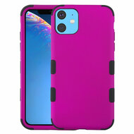 Military Grade Certified TUFF Hybrid Armor Case for iPhone 11 - Hot Pink