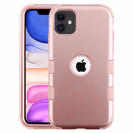 Military Grade Certified TUFF Hybrid Armor Case for iPhone 11 - Rose Gold