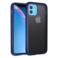 Frost Semi Transparent Hybrid Case for iPhone 11 - Navy Blue