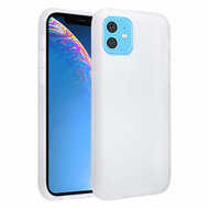 Frost Semi Transparent Hybrid Case for iPhone 11 - White