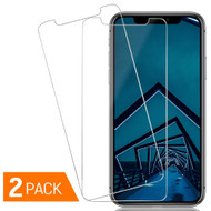 *SALE* 2-Pack HD Premium 2.5D Round Edge Tempered Glass Screen Protector for iPhone 11 Pro / iPhone XS / iPhone X