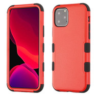 Military Grade Certified TUFF Hybrid Armor Case for iPhone 11 Pro - Red
