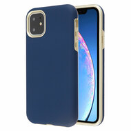 Fuse Slim Armor Hybrid Case for iPhone 11 - Navy Blue Gold
