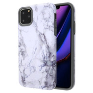 Fuse Slim Armor Hybrid Case for iPhone 11 Pro Max - Marble White