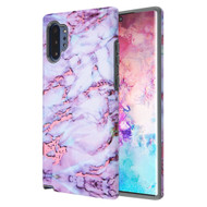 Fuse Slim Armor Hybrid Case for Samsung Galaxy Note 10 Plus - Marble Wine