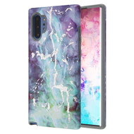 Fuse Slim Armor Hybrid Case for Samsung Galaxy Note 10 Plus - Marble Green Purple