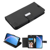 Xtra Series Essential Leather Wallet Stand Case for iPhone 11 - Black