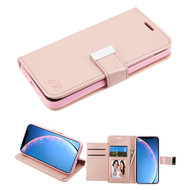 Xtra Series Essential Leather Wallet Stand Case for iPhone 11 - Rose Gold
