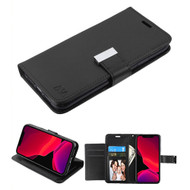 Xtra Series Essential Leather Wallet Stand Case for iPhone 11 Pro - Black