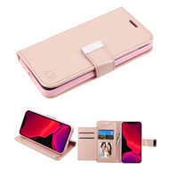 Xtra Series Essential Leather Wallet Stand Case for iPhone 11 Pro - Rose Gold