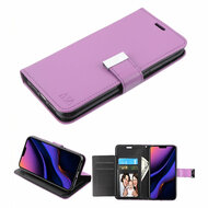 Xtra Series Essential Leather Wallet Stand Case for iPhone 11 Pro Max - Purple