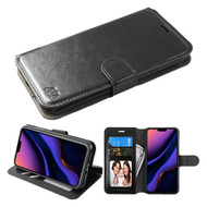 Element Series Book-Style Leather Folio Case for iPhone 11 Pro Max - Black