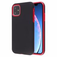 Fuse Slim Armor Hybrid Case for iPhone 11 - Black Red
